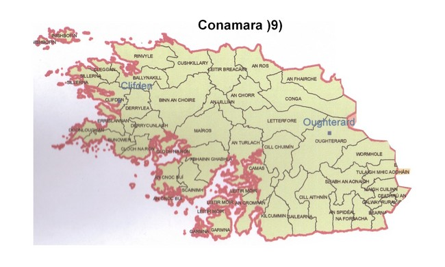 Conamara Map