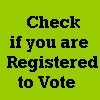 Check if you are Registered to Vote